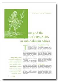 Orphans and the Impact of Hiv/Aids in Su... by Wagt, A. De