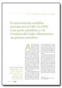 El Asesoramiento Cientifico Prestado Por... by Food and Agriculture Organization of the United Na...