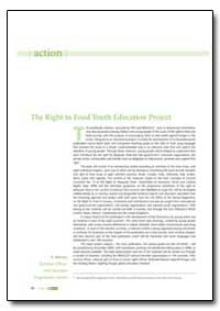 The Right to Food Youth Education Projec... by Food and Agriculture Organization of the United Na...