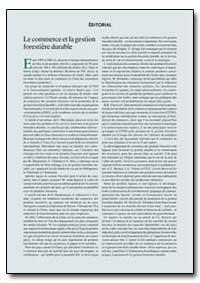 El Comercio Y la Ordenacion Forestal Sos... by Food and Agriculture Organization of the United Na...