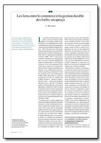 Los Vinculos Entre El Comercio Y la Orde... by Mersmann, C.