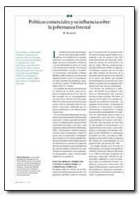 Politicas Comerciales Y Su Influencia So... by Richards, M.