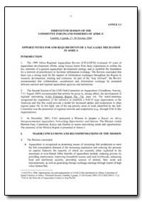 Thirteenth Session of the Committee for ... by Food and Agriculture Organization of the United Na...