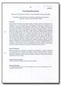 Founding Document by Food and Agriculture Organization of the United Na...