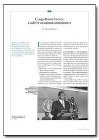 Un Appel Pour Un Engagement Durable en F... by Nguesso, D. Sassou