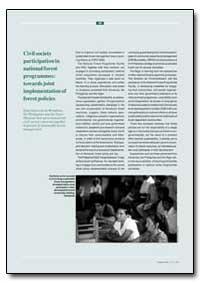 La Participation de la Societe Civile Au... by Food and Agriculture Organization of the United Na...