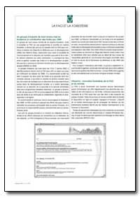 La Fao et la Foresterie by Food and Agriculture Organization of the United Na...