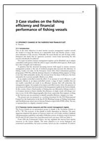 3 Case Studies on the Fishing Efficiency... by Food and Agriculture Organization of the United Na...