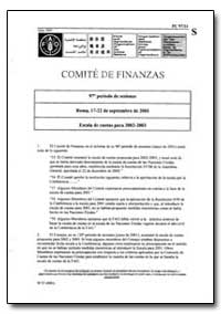 Escala de Cuotas para 2002-2003 by Food and Agriculture Organization of the United Na...