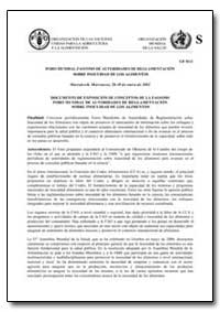 Documento de Exposicion de Conceptos de ... by Food and Agriculture Organization of the United Na...