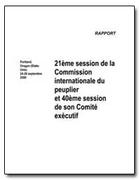 21 Eme Session de la Commission Internat... by Food and Agriculture Organization of the United Na...