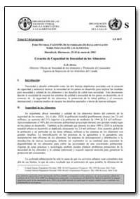 Creacion de Capacidad de Inocuidad de Lo... by Orriss, G. D.