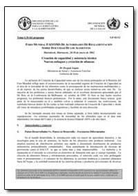 Creacion de Capacidad Y Asistencia Tecni... by Gupta, Deepak, Dr.