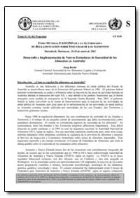 Desarrollo E Implementacion de Nuevos Es... by Food and Agriculture Organization of the United Na...