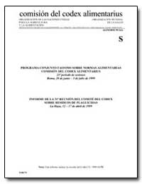 Informe de la 31 Reunion Del Comite Del ... by Food and Agriculture Organization of the United Na...