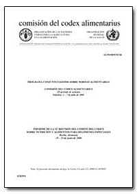 Report of the 22Nd Session of the Codex ... by Food and Agriculture Organization of the United Na...
