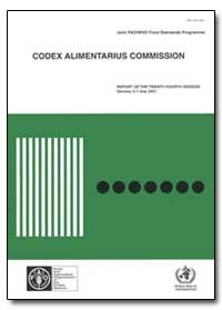 Codex Alimentarius Commission by Food and Agriculture Organization of the United Na...