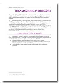 Organizational Performance by Food and Agriculture Organization of the United Na...