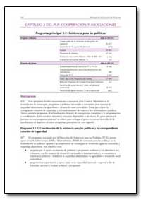 Capitulo 3 Del Plp Cooperacion Y Asociac... by Food and Agriculture Organization of the United Na...