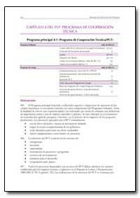 Capitulo 4 Del Plp Programa de Cooperaci... by Food and Agriculture Organization of the United Na...