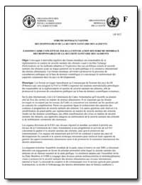 Fao/Oms Cadre Conceptuel Pour la Convoca... by Food and Agriculture Organization of the United Na...