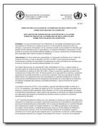 Documento de Exposicion de Conceptos de ... by Food and Agriculture Organization of the United Na...