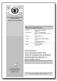 Decisiones Y Recomendaciones Del Tercer ... by Ruphin, Georges, Sr.