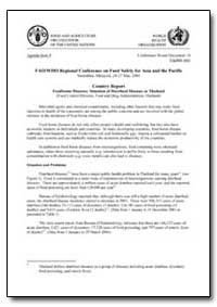 Country Report Foodborne Diseases Situat... by Food and Agriculture Organization of the United Na...