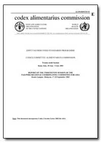 Report of the Thirteenth Session of the ... by Food and Agriculture Organization of the United Na...