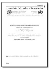 Informe de la 13 Reunion Del Comite Coor... by Food and Agriculture Organization of the United Na...