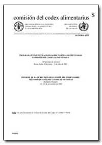 Informe de la 24 Reunion Del Comite Del ... by Food and Agriculture Organization of the United Na...