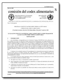 Evaluacion Conjunta Fao/Oms Del Codex Al... by Food and Agriculture Organization of the United Na...