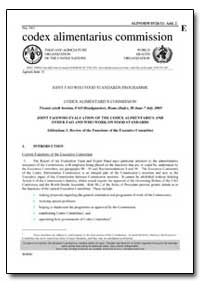 Addendum 2 Review of the Functions of th... by Food and Agriculture Organization of the United Na...