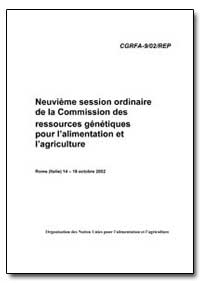 Neuvieme Session Ordinaire de la Commiss... by Food and Agriculture Organization of the United Na...