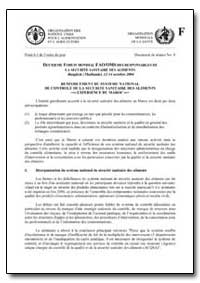 Renforcement du Systeme National de Cont... by Food and Agriculture Organization of the United Na...