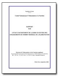 Comite National Pour Lalimentation et la... by Food and Agriculture Organization of the United Na...