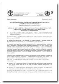 Sistema de Alerta Rapida para Alimentos ... by Food and Agriculture Organization of the United Na...