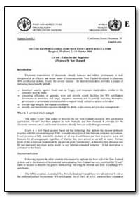 E-Cert Value for the Regulator by Food and Agriculture Organization of the United Na...