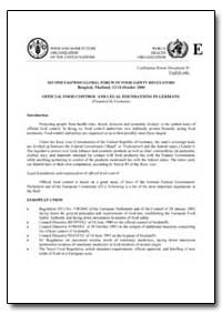 Official Food Control and Legal Foundati... by Food and Agriculture Organization of the United Na...