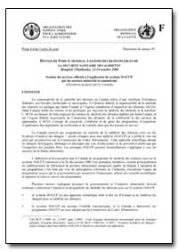 Soutien des Services Officiels a L'Appli... by Food and Agriculture Organization of the United Na...