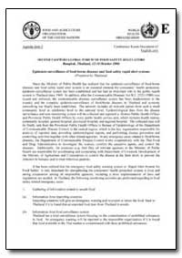 Epidemio-Surveillance of Food-Borne Dise... by Food and Agriculture Organization of the United Na...