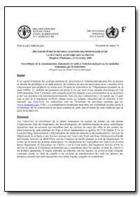 Surveillance de la Contamination Aliment... by Food and Agriculture Organization of the United Na...