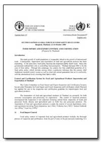 Food Import and Export Control and Certi... by Food and Agriculture Organization of the United Na...
