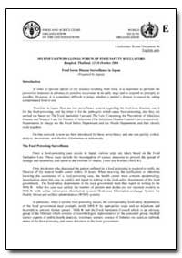 Food Borne Disease Surveillance in Japan by Food and Agriculture Organization of the United Na...