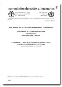 Rapport de la Sixieme Session du Comite ... by Food and Agriculture Organization of the United Na...