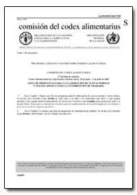 Lista de Propuestas para la Elaboracion ... by Food and Agriculture Organization of the United Na...