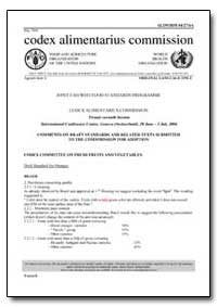 Comments on Draft Standards and Related ... by Food and Agriculture Organization of the United Na...