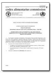 International Non-Governmental Organizat... by Food and Agriculture Organization of the United Na...