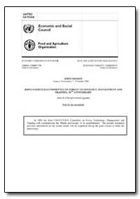 Joint Fao/Ece/Ilo Committee on Forest Te... by Food and Agriculture Organization of the United Na...