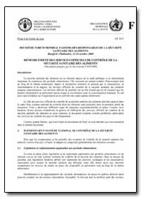 Deuxieme Forum Mondial Fao/Oms des Respo... by Food and Agriculture Organization of the United Na...